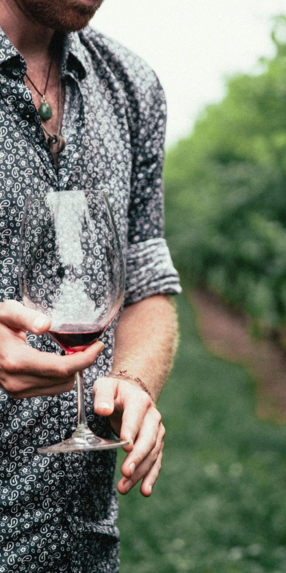 mens-fashion-close-up-patterned-shirt-red-wine